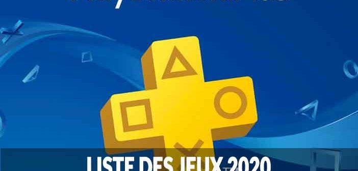 La liste de tous les jeux gratuits à télécharger sur PS4 en 2020 (jeux du programme PlayStation Plus)