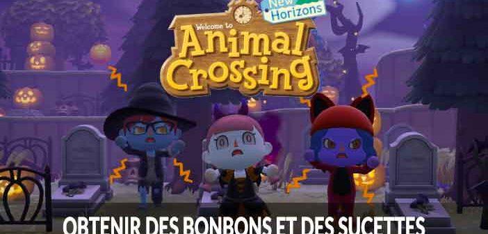 Guide Animal Crossing New Horizons quelles sont les différentes méthodes pour obtenir des bonbons et des sucettes
