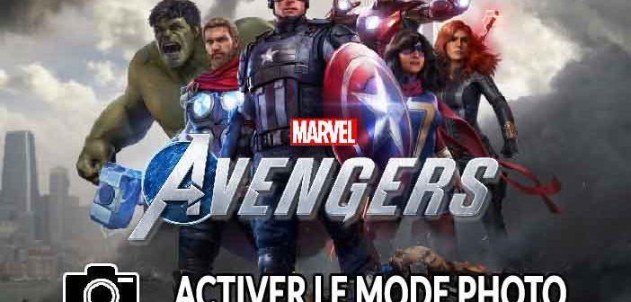 Guide Marvel's Avengers comment activer et utiliser le mode photo dans le jeu (Xbox One / PS4)