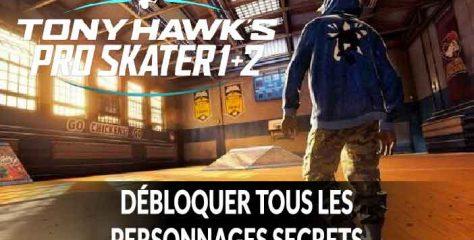 La liste de tous les skateurs cachés à débloquer dans Tony Hawk's Pro Skater 1 + 2