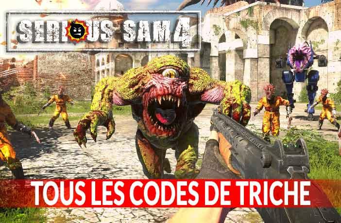 tous-les-codes-de-triche-de-serious-sam-4