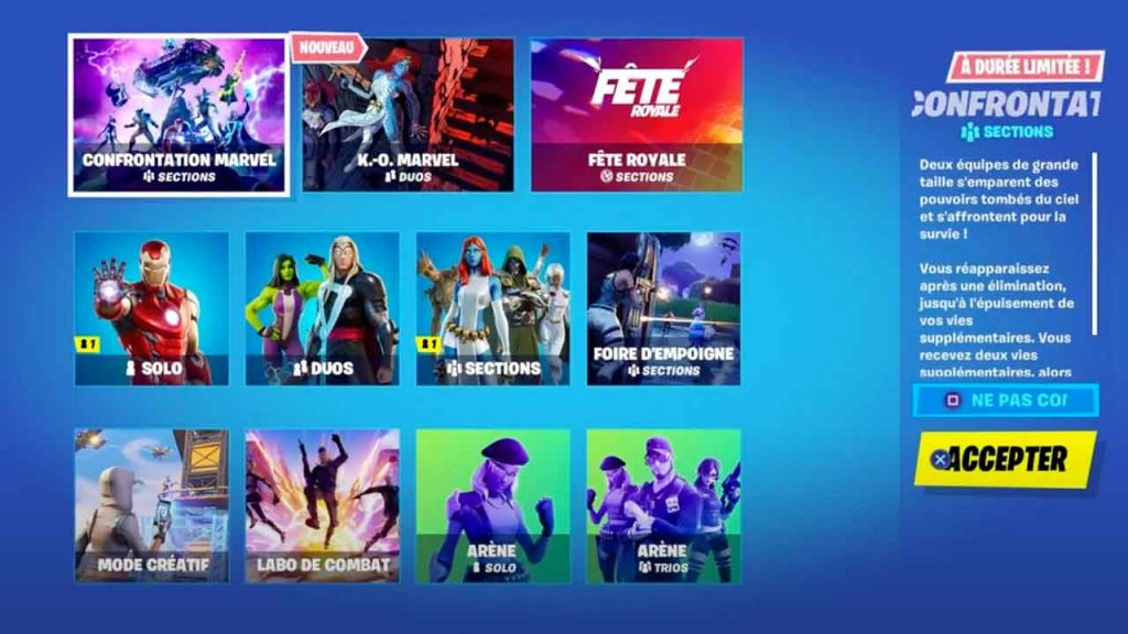fortnite-modes-de-jeu-marvel-confrontation-K-O