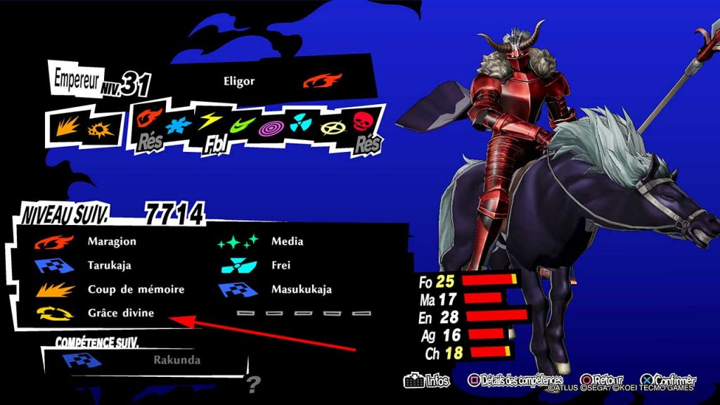 Persona-5-Strikers-obtenir-eligor-avec-grace-divine-courrier-carceral