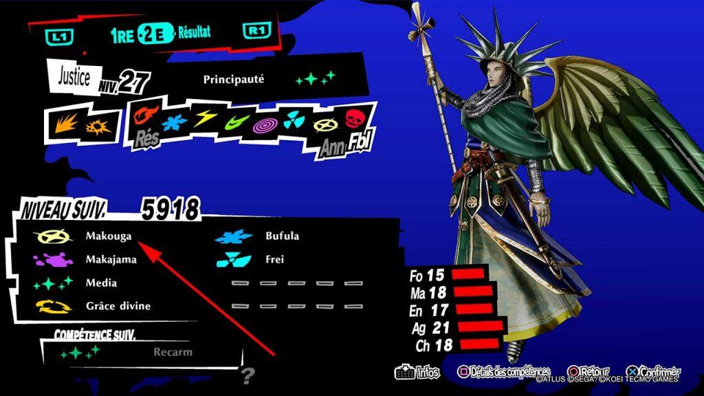 Persona-5-strikers-competence-makouga-de-principaute