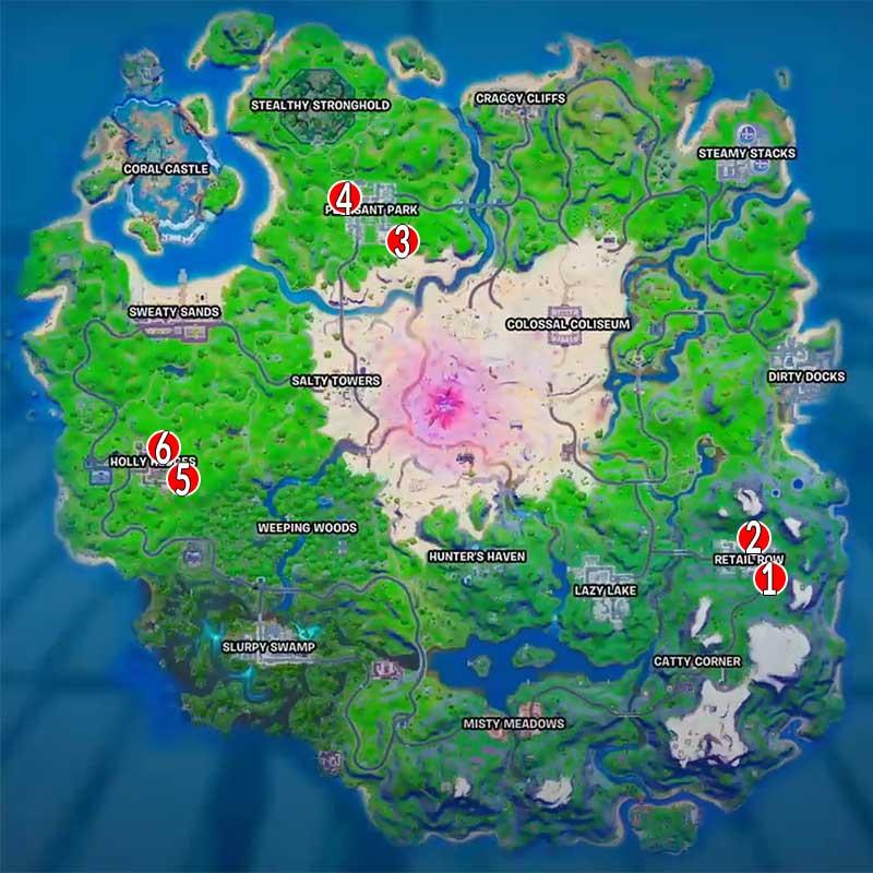 emplacements-des-boites-de-chocolat-fortnite-Coeurs-Sauvages-MAP