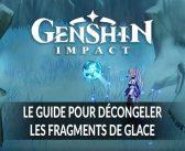 Guide Genshin Impact comment réussir la quête ou il faut décongeler les trois fragments de glace