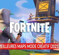 Tous les codes pour jouer aux meilleures MAPS du mode créatif de Fortnite (édition 2021)