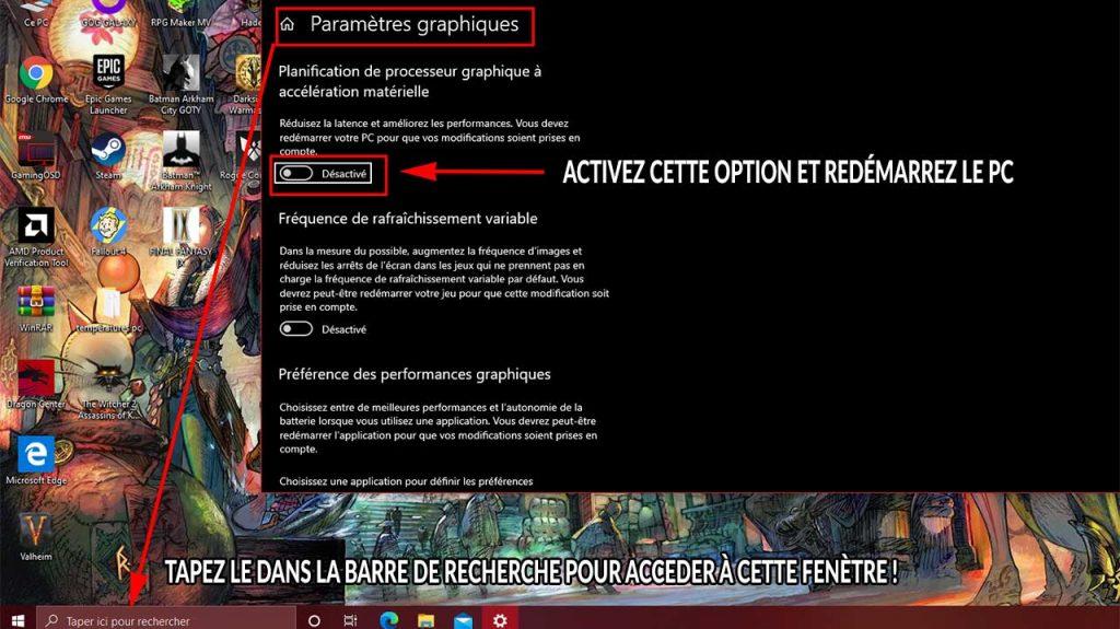 parametres-graphiques-windows-pour-ameliorer-valheim