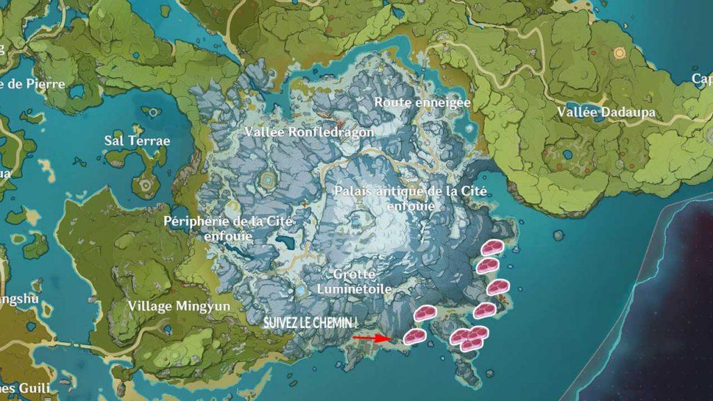 carte-emplacements-viande-froide-de-genshin-impact