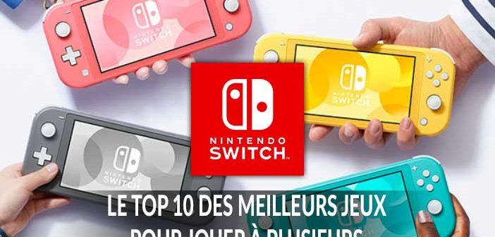 Quels sont les meilleurs jeux pour jouer à plusieurs en coopération locale sur Nintendo Switch ?