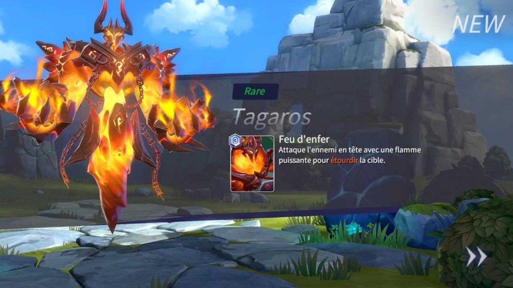 16-carte-monstre-Tagaros-rare-Summoners-War-Lost-Centuria