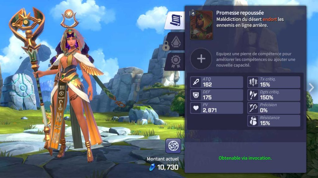 32-carte-monstre-Hathor-legendaire-Summoners-War-Lost-Centuria