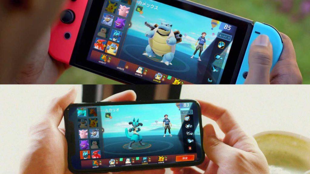 Pokemon-Unite-nintendo-switch-mobiles-android-ios