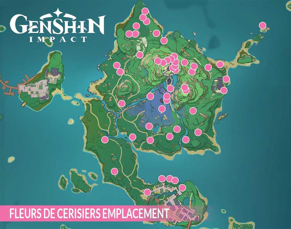 genshin-impact-carte-Inazuma-fleurs-de-cerisier