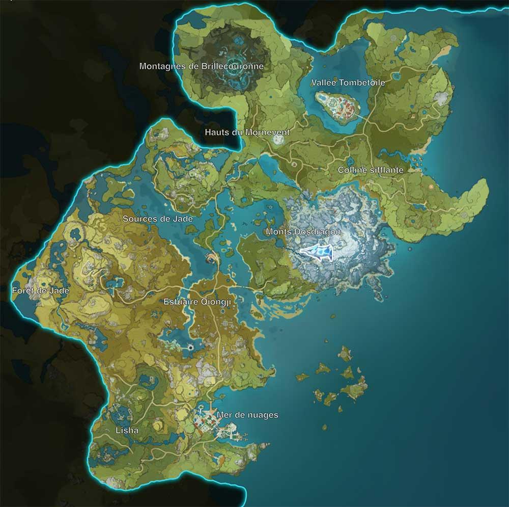 carte-de-peche-genshin-impact-emplacements-Poisson-Arpente-neige