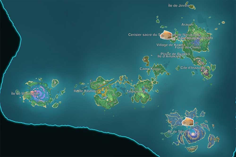 carte-de-peche-genshin-impact-emplacements-Poisson-globe-inazuma
