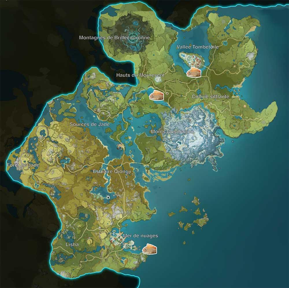 carte-de-peche-genshin-impact-emplacements-Poisson-globe