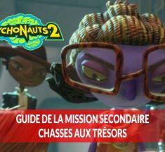 Soluce Psychonauts 2 où se trouvent tous les objets à récupérer de la mission optionnelle chasse au trésor