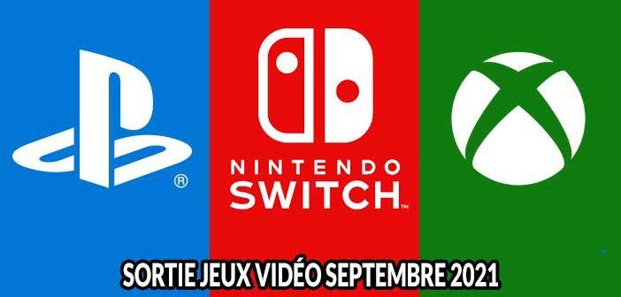 Calendrier des sorties de jeux vidéo en septembre 2021 sur consoles PlayStation, Xbox, Switch et sur PC